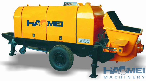 What Is The Working Principle Of Concrete Pump Truck?