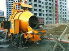Small Concrete Pump Bring Convenience To Constructi