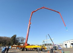 Precautions for the stretching arm of concrete boom truck