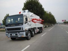 The maintenance of concrete pump truck in high temperature w