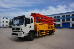 Matters needing attention in selection of concrete pump truc