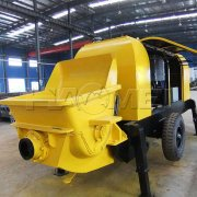 Portable concrete pump in the construction machinery market